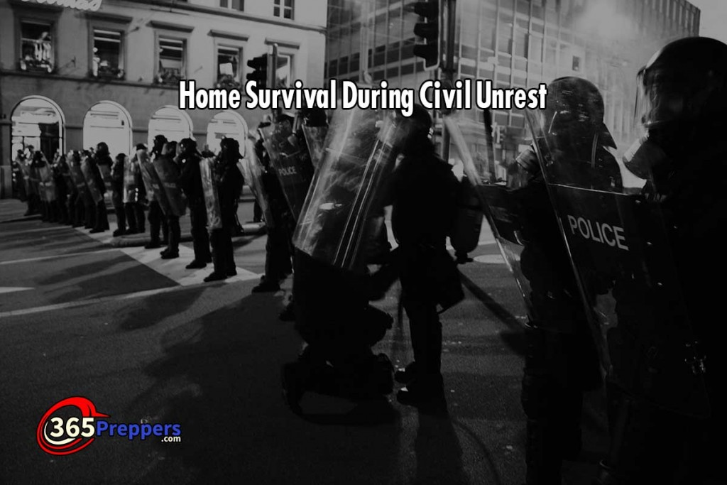 Home Survival During Civil Unrest