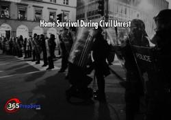 Home Survival During Civil Unrest