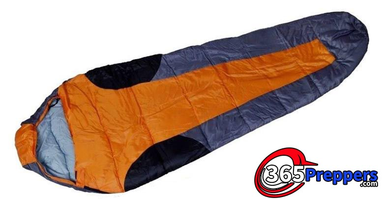 outdoor camping mummy style sleeping bag survival prepping